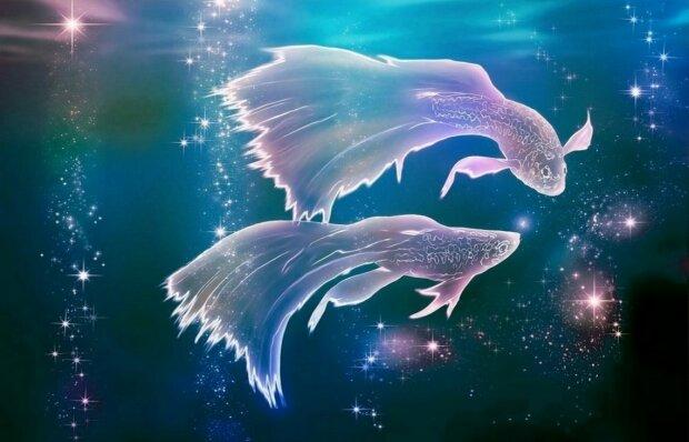 Знак Зодиака Рыбы, иллюстрация: astrozodiac.net
