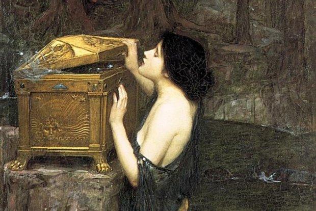 Дивовижна легенда про скриньку Пандори: як богиня принесла на Землю страждання і надію