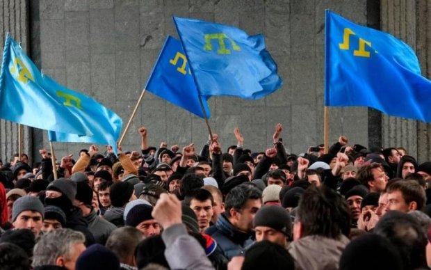 Русскій мір: з'явилося відео жорстоких зіткнень в Криму