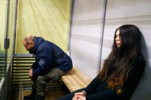 Зайцева втекла з суду, щоб не чути свій вирок: відео