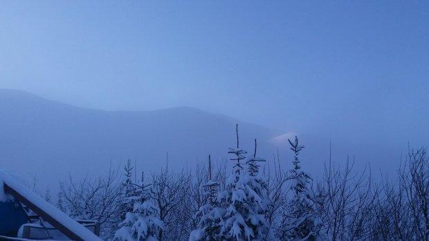 Карпати опинилися в морозно-сніговій пастці: фото неймовірної краси