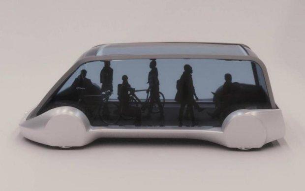 Ілон Маск представив безпілотний електричний автобус