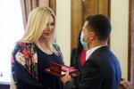 Ірина Білик і Володимир Зеленський, фото: прес-служба ОПУ