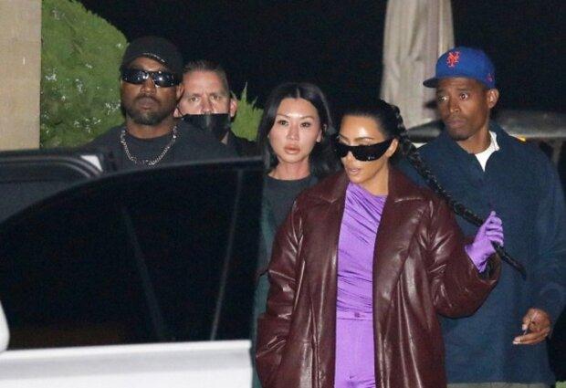 Ким Кардашьян и Канье Уэст вместе? Горячую парочку застукали на интиме за столом