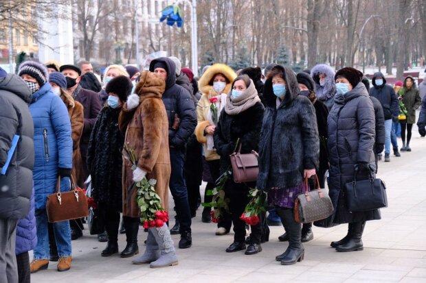 похорон Кернеса, фото: соцмережі