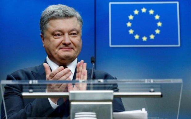 Порошенко підрахував, скільки українцям шкутильгати до Європи