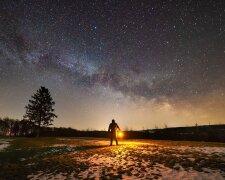 Звездное небо, иллюстративное фото