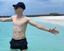 Виктор Цыганков отдыхает на Мальдивах
