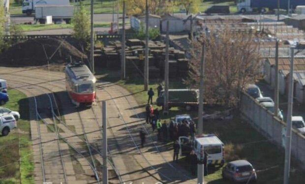 Трамвай в столице, фото: скриншот из видео