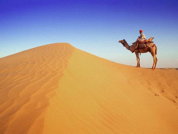 Археологи наткнулись в пустыне на загадочное существо с головой человека
