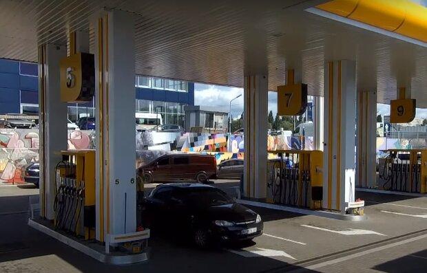 АЗС, кадр з відео