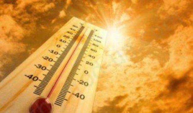 На Украину надвигается невероятная жара