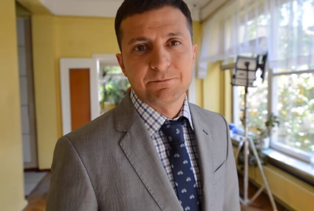 Володимир Зеленський, скріншот відео