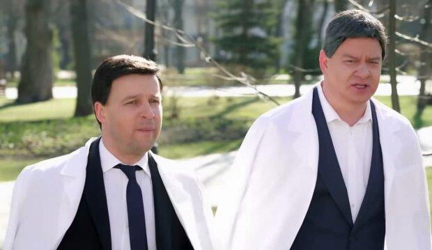 Юрий Великий и Евгений Кошевой, скриншот из видео
