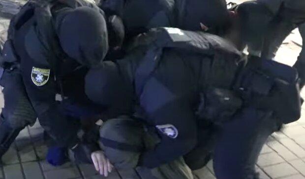 Затримання злочинців, фото: hk.npu.gov.ua