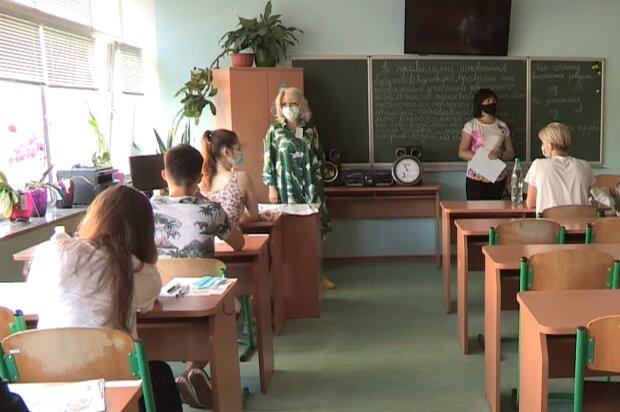 Урок у школі, скріншот відео