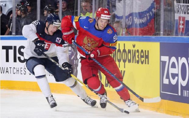 Росія - Словаччина 6:0 Відео найкращих моментів матчу ЧС-2017 з хокею
