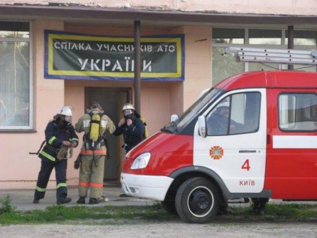 У Києві намагалися підпалити офіс волонтерів