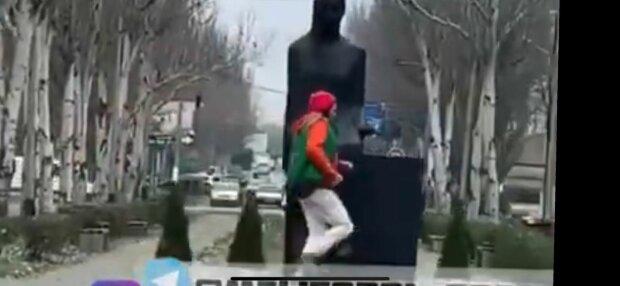 Неадекват, фото: скріншот з відео