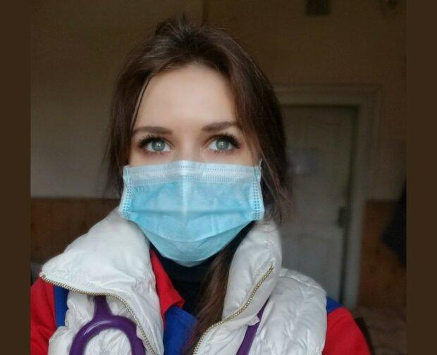 Алиса Грищенко, врач из Черновцов дважды болела на коронавирус, фото с Фейсбук