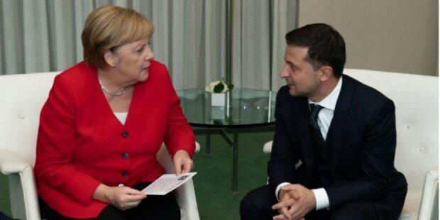"""Зеленський обговорив з Меркель """"Нормандський формат"""": деталі зустрічі"""