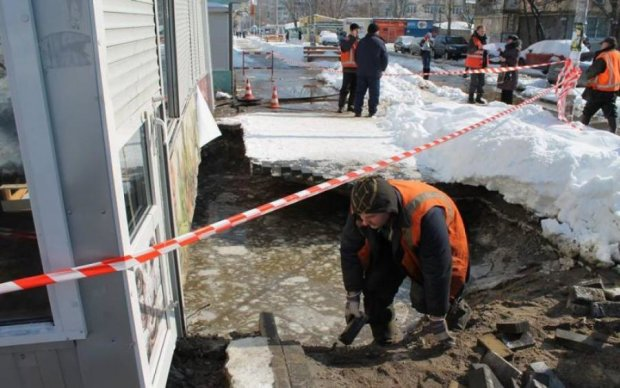 Коммунальный апокалипсис: киевский район уходит под воду