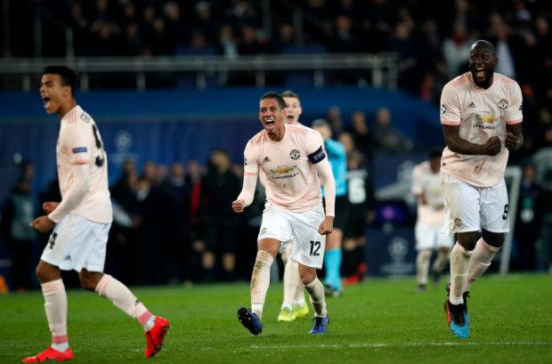Манчестер Юнайтед дивом переміг ПСЖ і вийшов до 1/4 фіналу Ліги чемпіонів