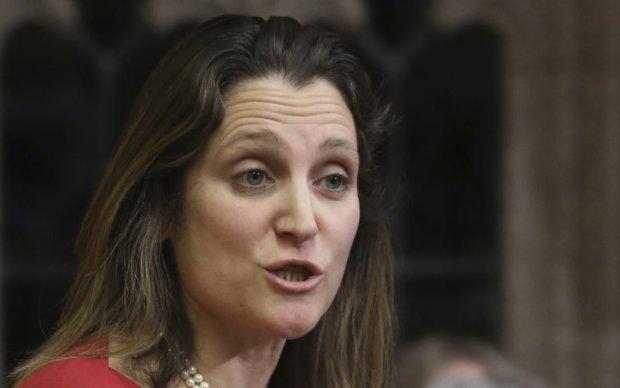 В Канаде заявили о жесткой позиции к действиям Кремля в Украине