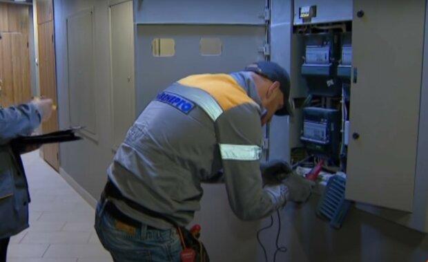 электрик, скриншот из видео