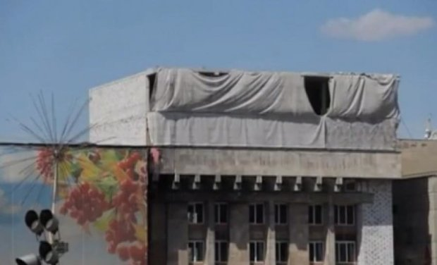 На демонтаж надбудови на Будинку профспілок витратять 200 тисяч гривень