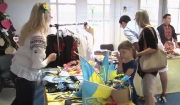 Американці в церкві зібрали гроші для біженців АТО