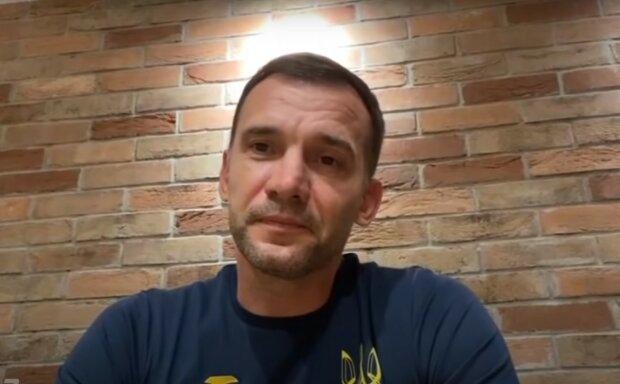 Андрей Шевченко, скриншот из видео