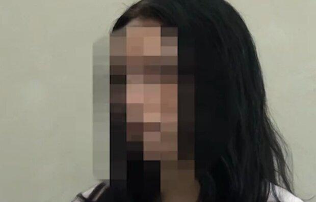 Юля, спасенная из рабства, кадр из видео