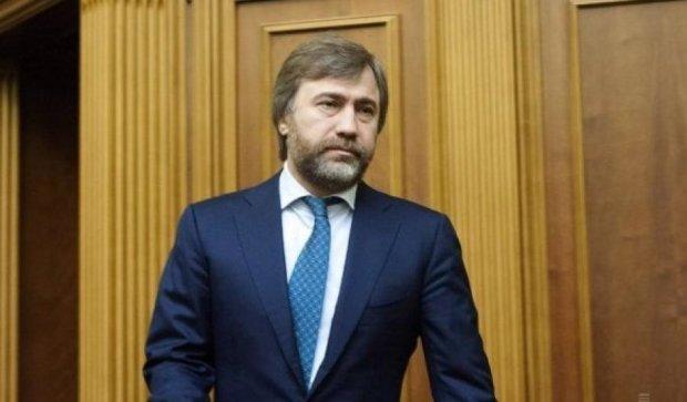 """Новинского """"корректно и профессионально"""" допросили в МВД"""