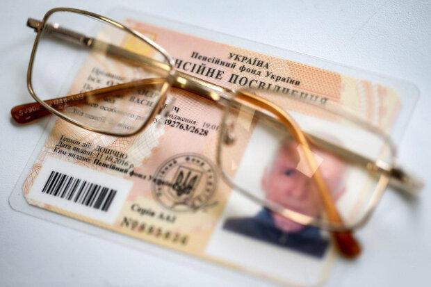 пенсионное удостоверение, фото Unian