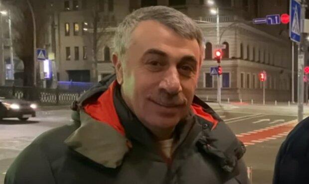 Комаровский, скриншот: Youtube