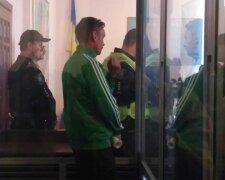 Суд над мінером в Києві, фото: Уніан
