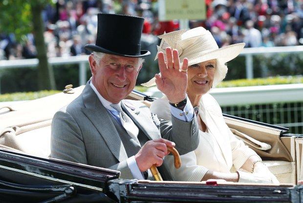 принц Чарльз та Камілла Паркер-Боулз