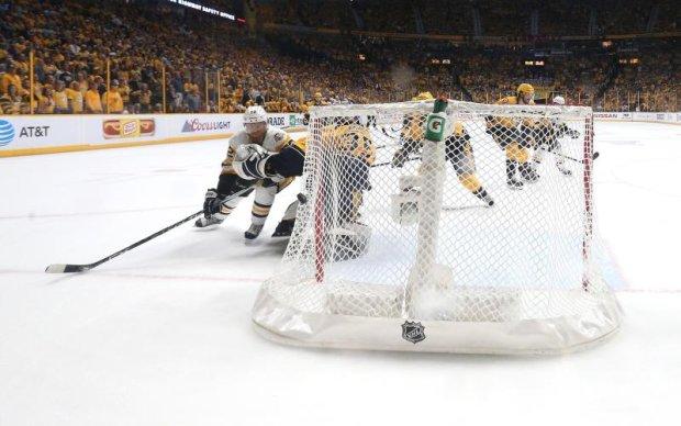 НХЛ: Лучшие моменты плей-офф в супер замедленной съемке