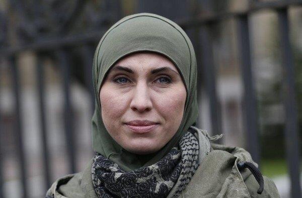 Аміна Окуєва, фото - Уніан .