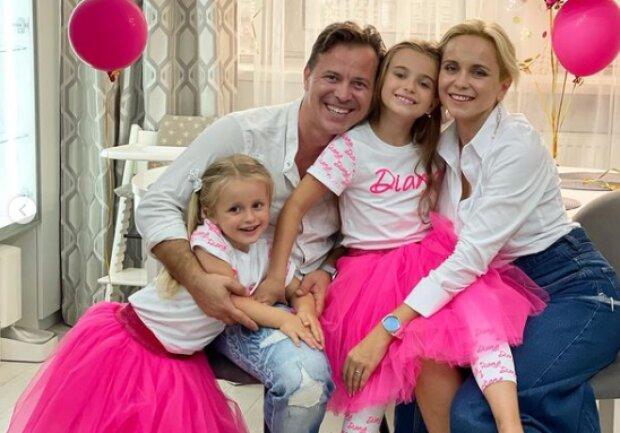 Лилия Ребрик с семьей, фото с Instagram