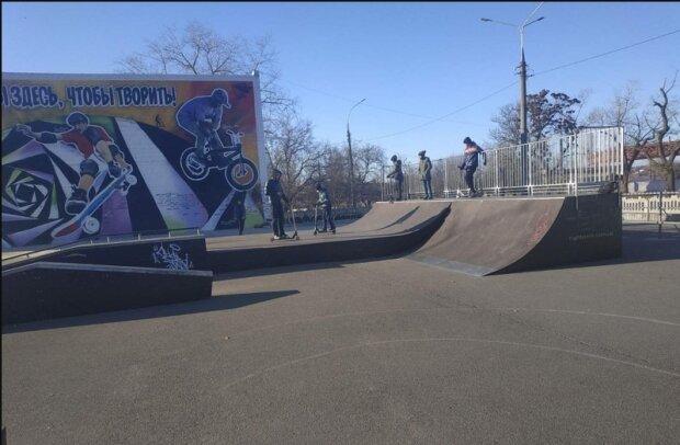 Скейт-парк, фото НикВести