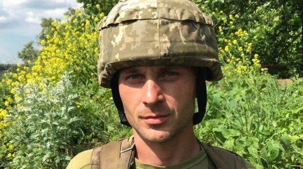 Володимир військовий, фото: ООС Facebook