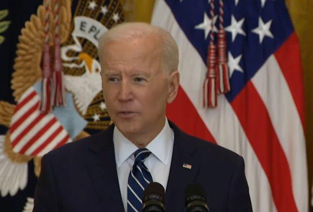 Джо Байден, кадр из видео