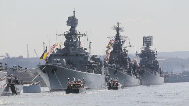 Шутки закончились: украинский флот идёт в Азовское море, намечается что-то серьезное