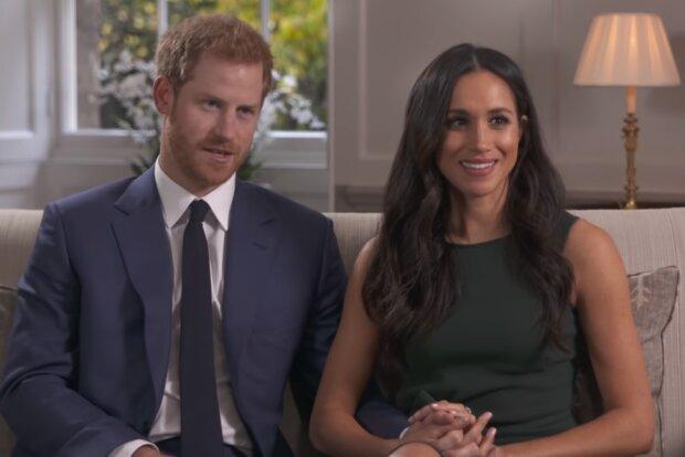 Принц Гаррі та Меган Маркл, скріншот відео