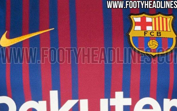 У мережі засвітили нову форму Барселони