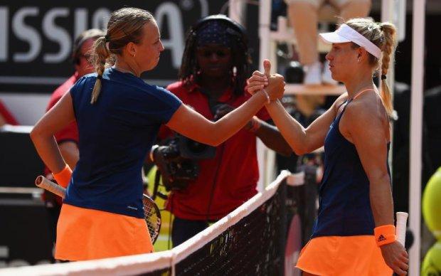 Рим (WTA): Кербер проиграла эстонке, Плишкова и Мугуруса идут дальше
