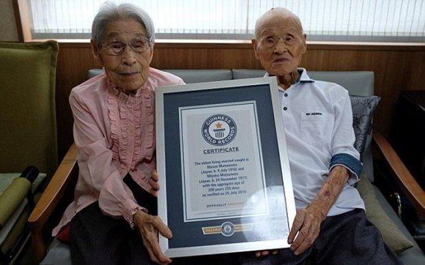 Помер чоловік з найромантичнішої пари на планеті: 210 років на двох