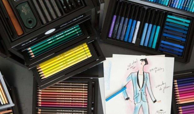 Лагерфельд выпустил карандаши для богатых (фото)